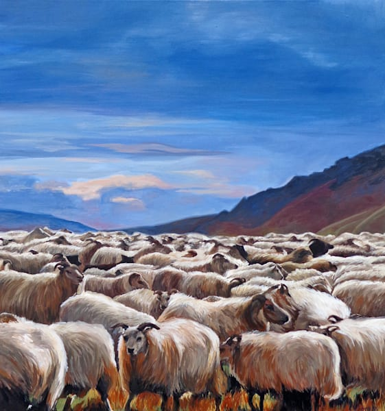 """Good Shepherd' by Jennifer Swoyer 