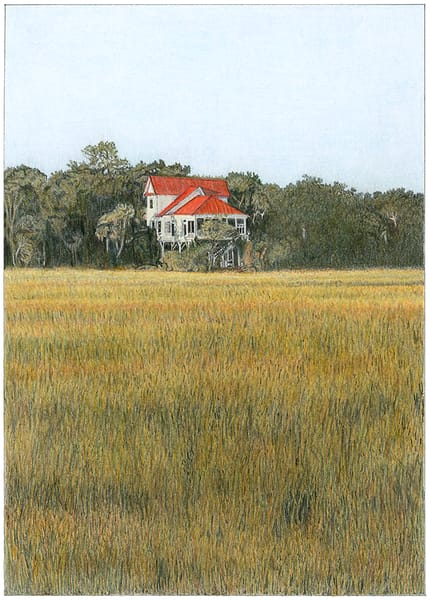 Red Roof at Edisto Island Marsh