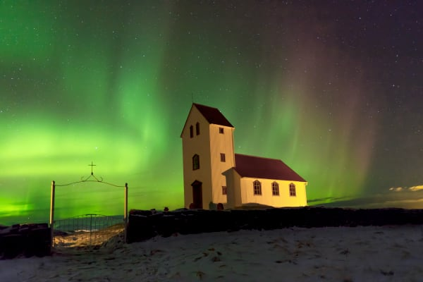 Northern Lights Iceland Nature Photography Prints | Robbie George