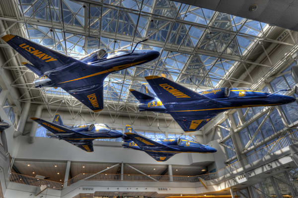 Blue Angels A-4 Skyhawks I