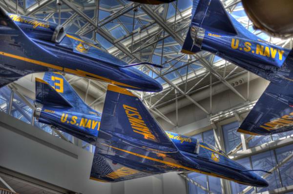 Blue Angels A-4 Skyhawks II