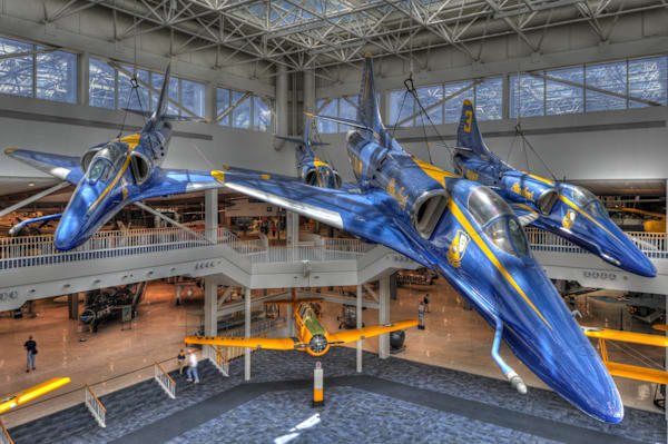 Blue Angels A-4 Skyhawks III