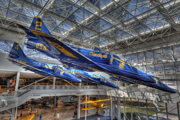 Blue Angels A-4 Skyhawks IV