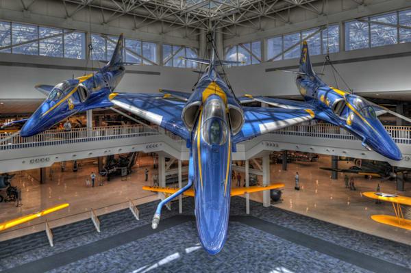 Blue Angels A-4 Skyhawks VI