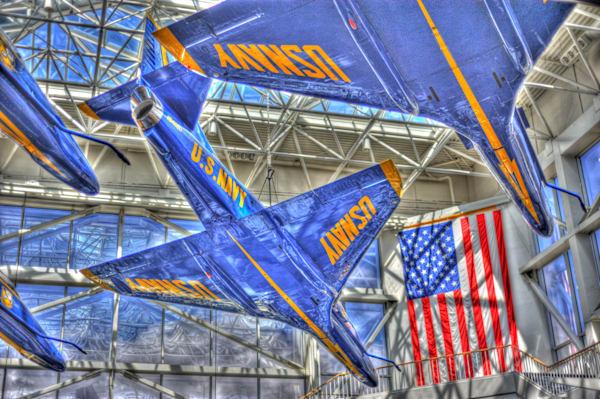 Blue Angels A-4 Skyhawks V