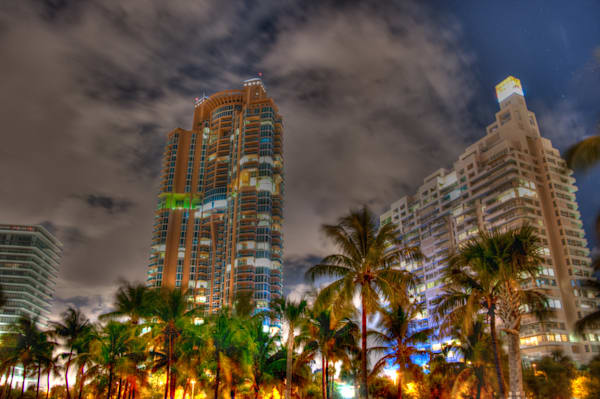 South Beach at Night III