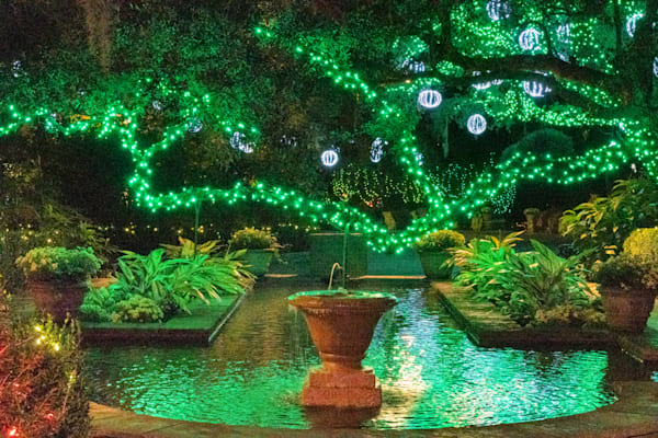 Bellingrath Gardens Christmas In Lights II