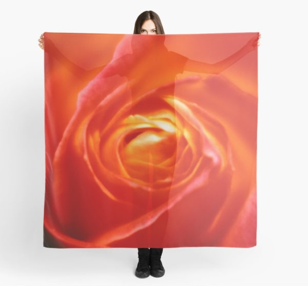 The Rose Scarf | Marci Brockmann Author, Artist, Podcaster & Educator