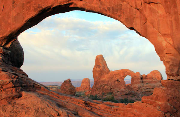 Turret Arch from the North Window