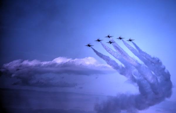 Delta Formation - USAF Thunderbirds