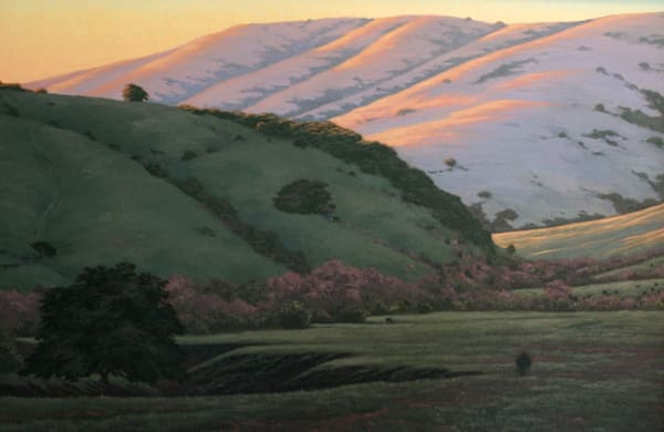 Northern California oil painting Chileno Valley