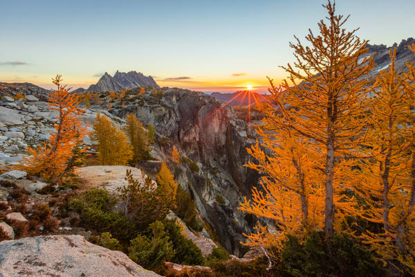 Asgard Sunrise, Enchantments, Washington