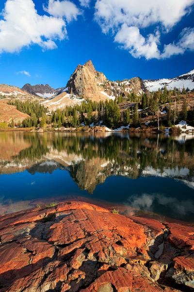 lake blanche spring vertical