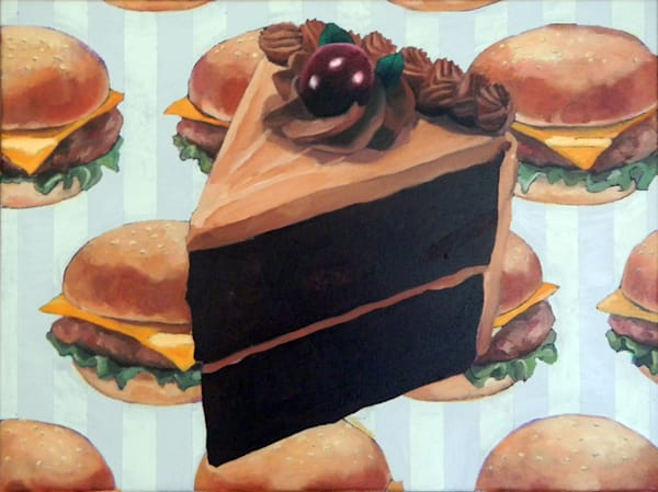 Matt Pierson Artworks | Cake and Cheeseburgers