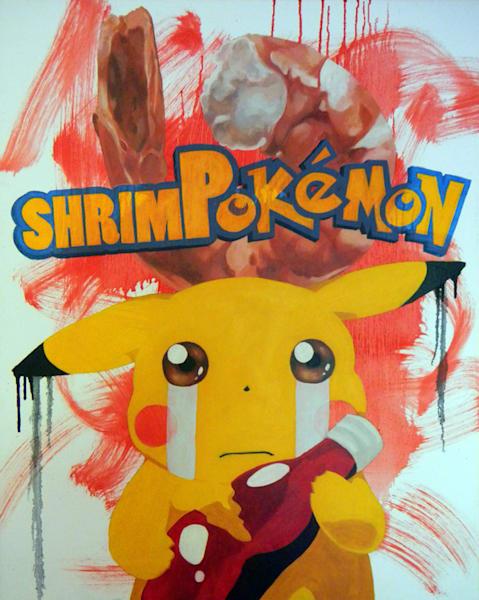 Matt Pierson Artworks | Shrim-Pokemon