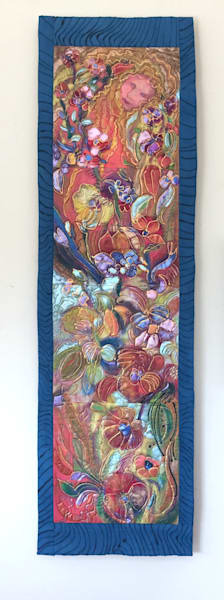 Mixed Media Fiber Art by Dorothy Fagan