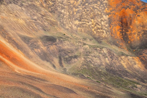 6285 Colored Mtnside Colorado Art | Cunningham Gallery