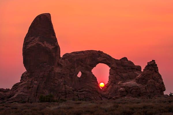 0069 Turret Arch Utah Art | Cunningham Gallery