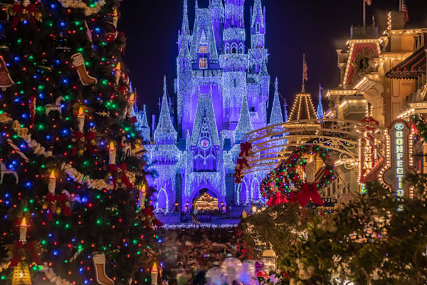 Disney's Magical Christmas Photograph - Disney Christmas Photos