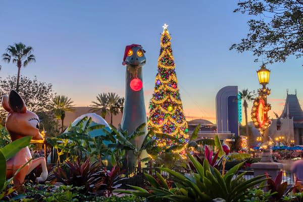Gertie Christmas - Disney Christmas Photos | William Drew
