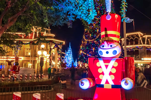 Toy Soldier Christmas 1 - Disney Christmas Photos