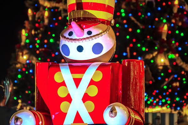 Toy Soldier Christmas 2 - Disney Christmas Photos | William Drew Photography