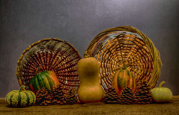 Fine Art Photographs of Romantic Fruit Collections by Michael Pucciarelli