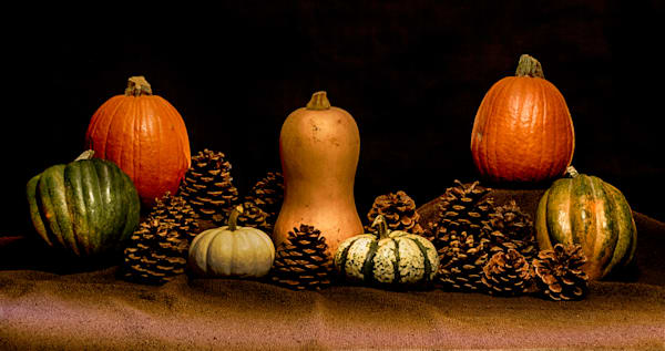 A Fine Art Photograph of Halloween Fruits by Michael Pucciarelli