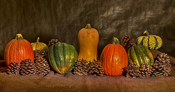 A Fine Art Photograph of Romantic Halloween Fruits by Michael Pucciarelli