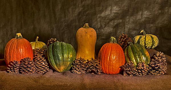 A Fine Art Photograph of Romantic Halloween Fruits by Michael Pucciarelli