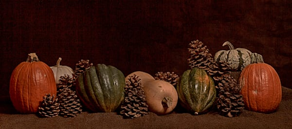 Fine Art Photograph of Halloween Romantic Fruit by Michael Pucciarelli