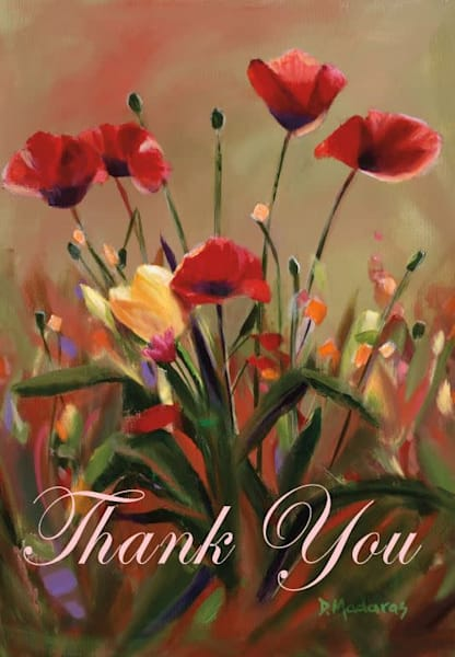 Thank You Card by Diana Madaras