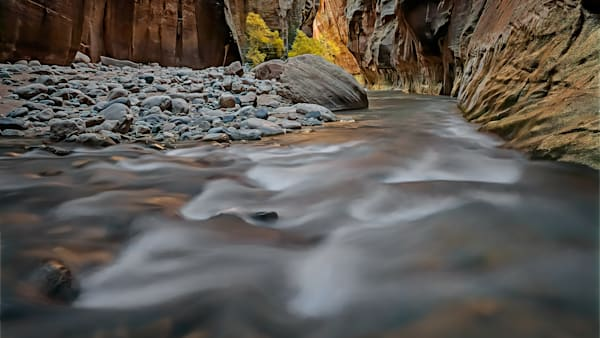 Flowing Through Wall Street in Zion