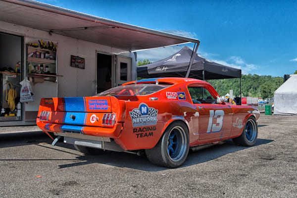 1965 Ford Mustang - Circuit - Mont Tremblant IV