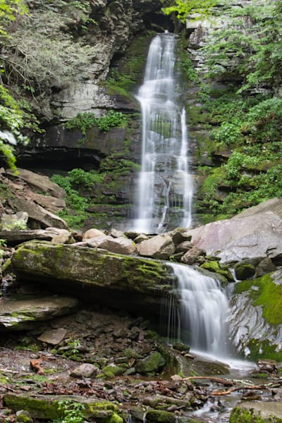 Waterfall in upstate NY by fine art photographer Steven Archdeacon.