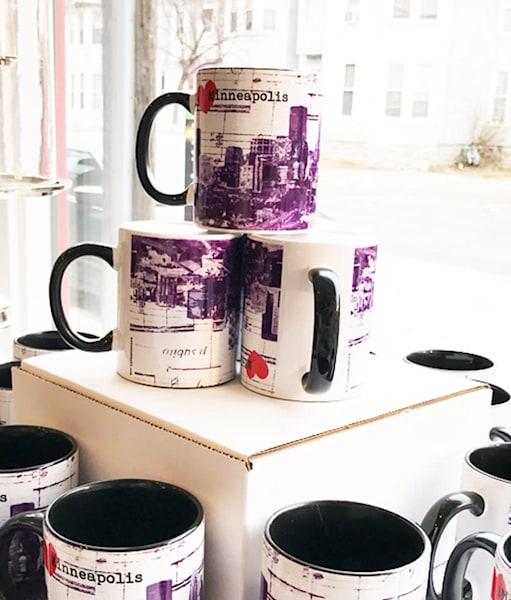 Minneapolis Coffee Mug   Set Of 4 | Made by Kristi