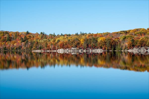 Teal Lake Reflection