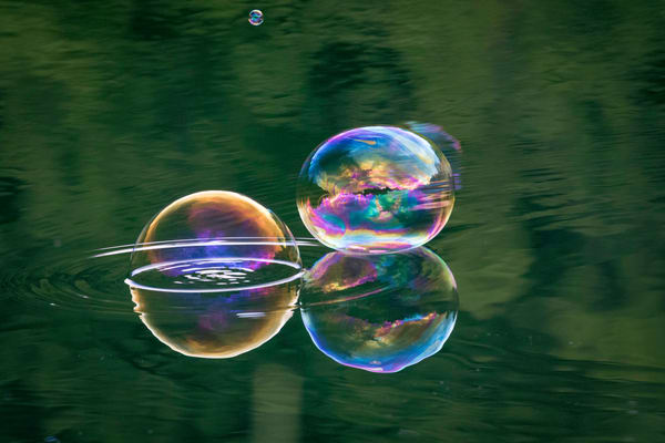 Time in a Bubble