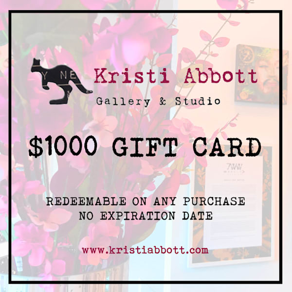 $1000 Gift Card | Made by Kristi