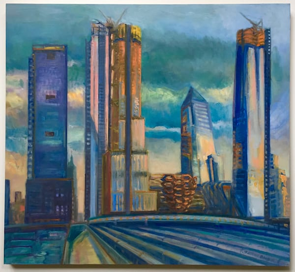 Hudson Yards Rising 2018 - SOLD