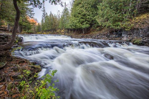 Fine art photos of Michigan's beautiful Ocqueoc Falls