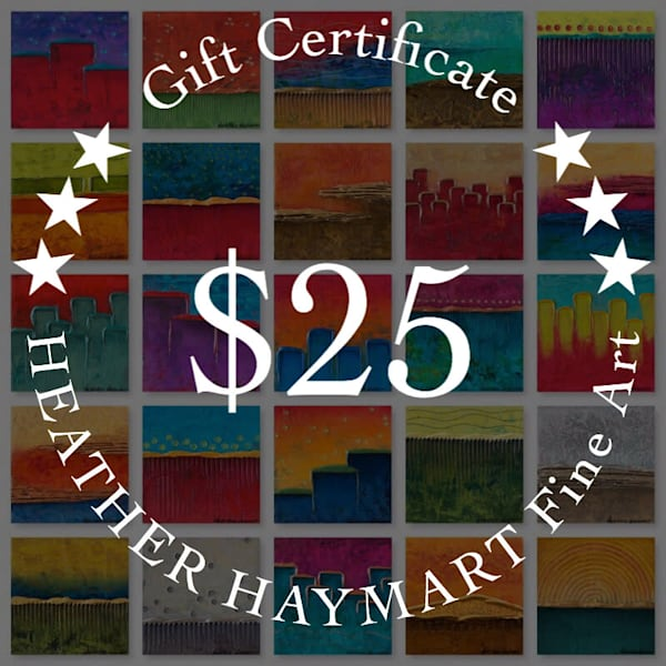 $25 Gift Card | Heather Haymart Fine Art