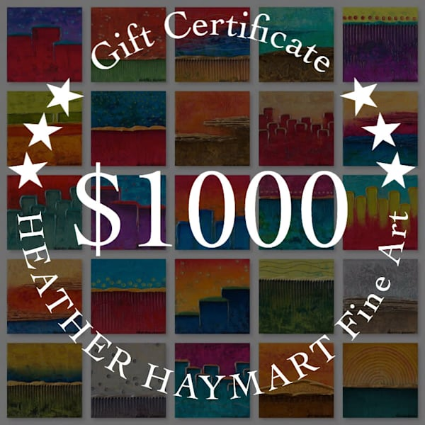 $1000 Gift Card | Heather Haymart Fine Art