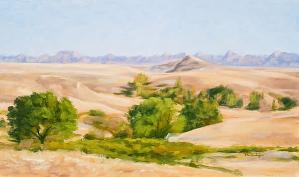 Badlands Heat - Oil - Private Collection