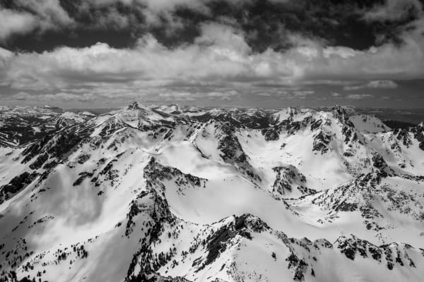 Madison Range South (Viewed from Gallatin Peak)
