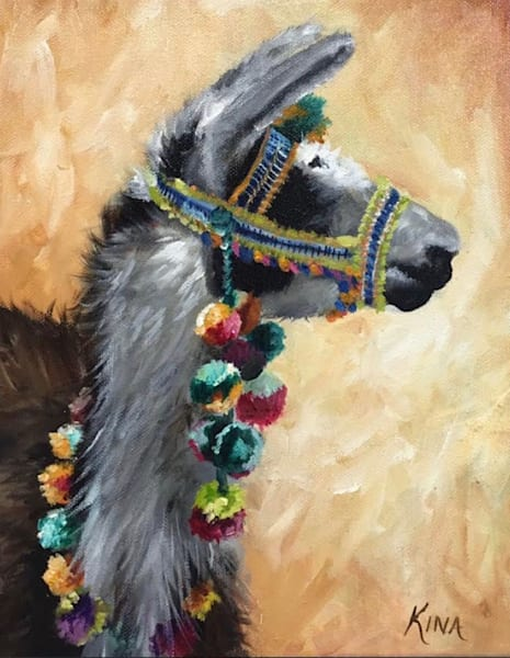 Festive Lama Art | Creative Kina