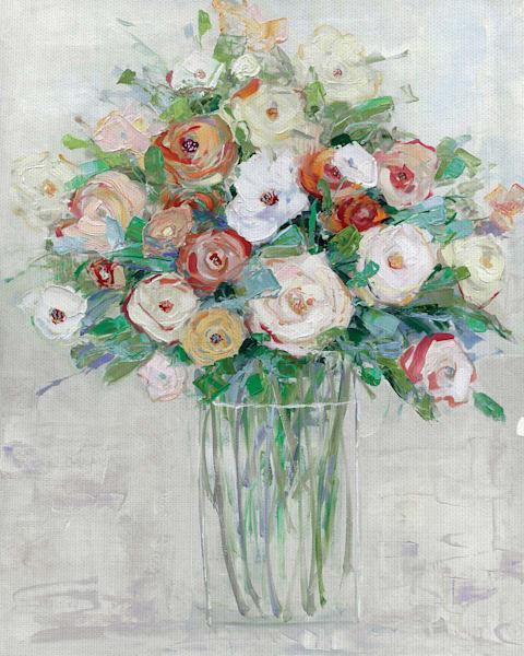 Mid-Summer Medley by artist Sally Swatland Canvas Art Print
