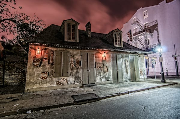 Lafitte's Blacksmith Shop French Quarter photography