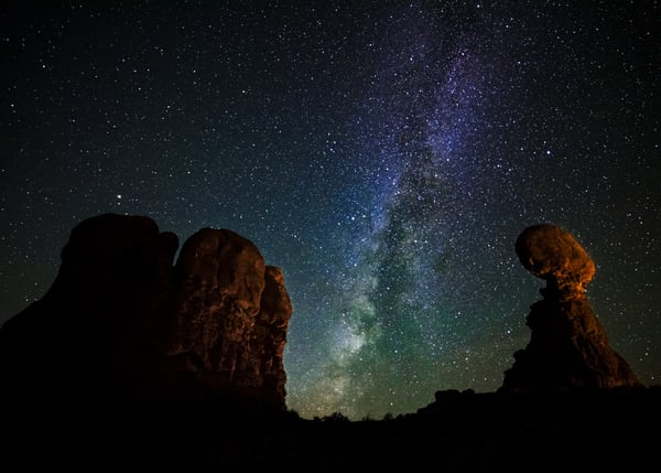 Balanced Rock Milky Way Photography