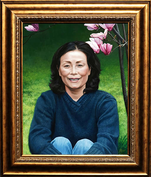 Connie Memorial Portrait by Kevin Grass